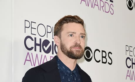 Justin Timberlake at the People's Choice Awards