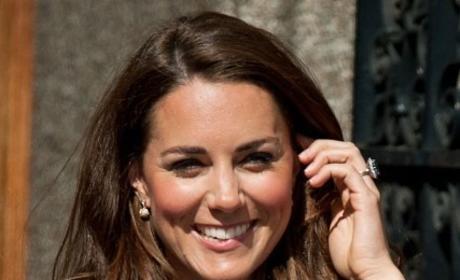 Kate Middleton Wavy Hair