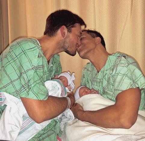 Fredrik Eklund, Derek Kaplan, Newborn Babies