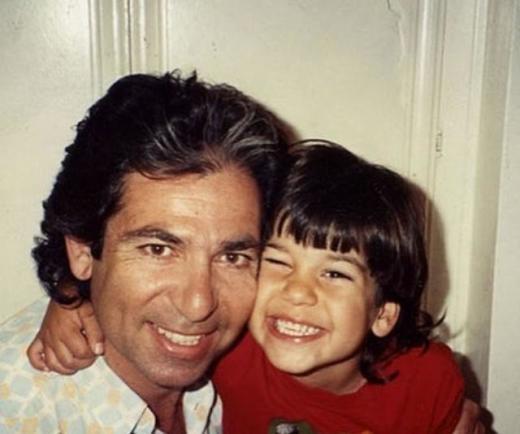 Robert Kardashian, Sr. and Rob Jr. Photo