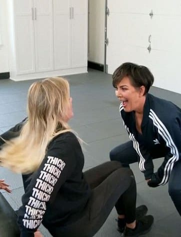 Kris Jenner as a Trainer