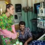 Miley and Liam at the Hospital