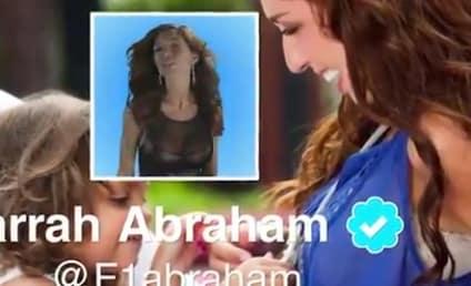 "Farrah Abraham: ""Blowin'"" Off Royalty Payments to Adam Barta!"