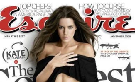 Kate Beckinsale in Esquire