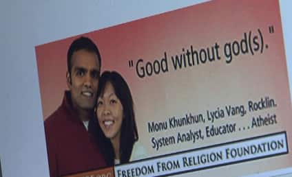 Atheist Billboards Make Holiday Push For People to Worship Nothing