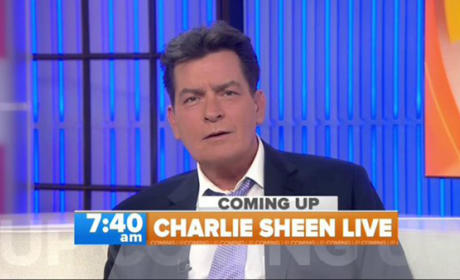 Charlie Sheen on Today