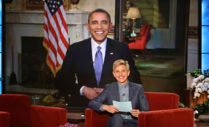 "President Obama Slams Ellen for ""Cheap"" Oscars Stunt, Might Get a Tattoo"