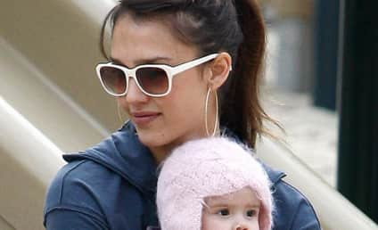 Adorable Celebrity Baby, Mother Sighting: Jessica Alba and Honor