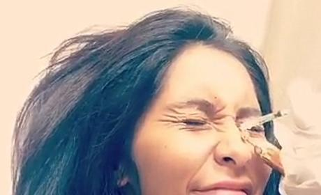 Snooki Gets Botox, Shares Painful Experience On Snapchat