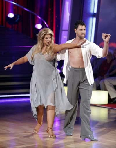 Maks and Kirstie Pic