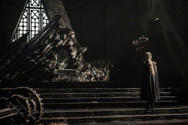 Daenerys in Dragonstone