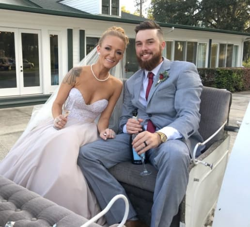 Maci Bookout Wedding Pic