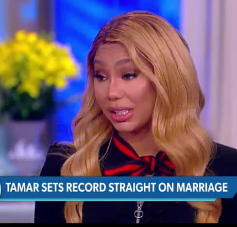 Tamar Braxton on The View