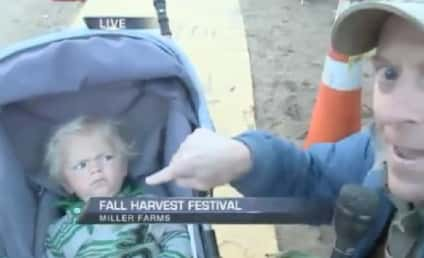 Reporter Tries, Fails to Interview Baby