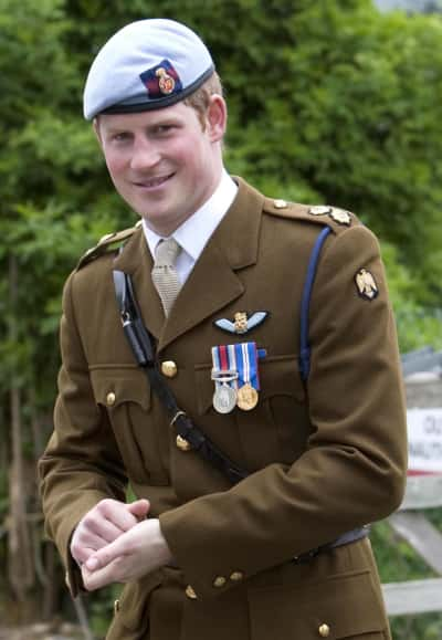 Prince Harry in Uniform