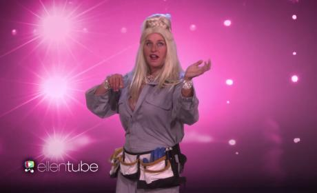 "Ellen DeGeneres Strips Down for New Season, Previews ""Magic Michelle"""