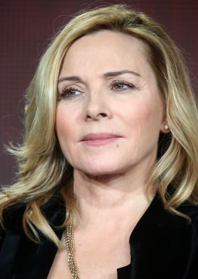 Kim Cattrall Face
