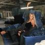 Khloe Kardashian in a Factory