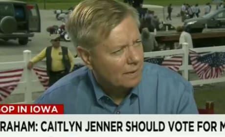 Lindsey Graham on Caitlyn Jenner