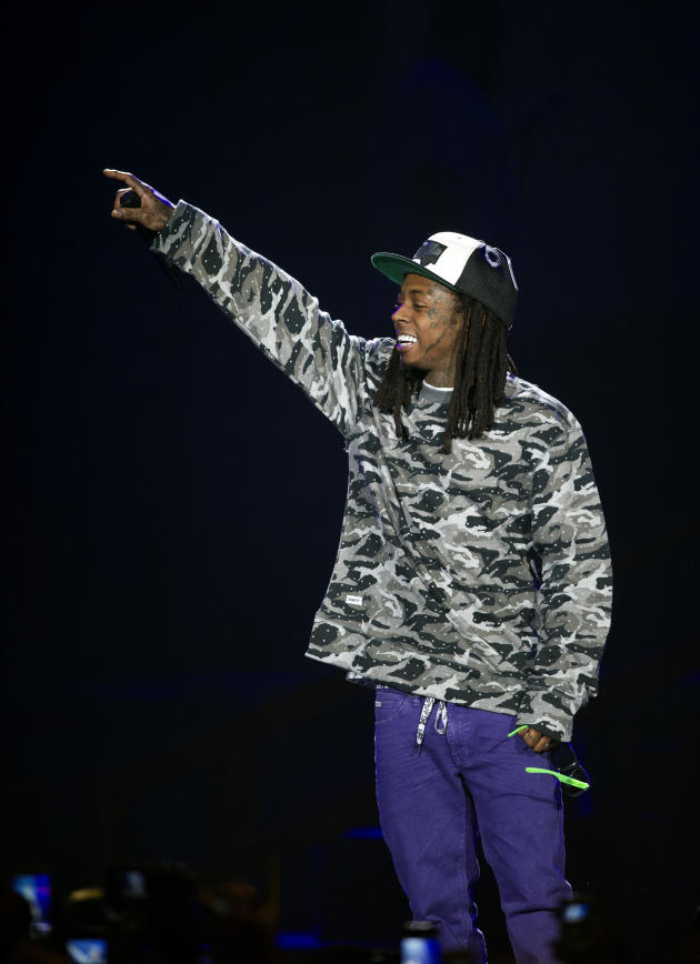 Lil Wayne in the Netherlands