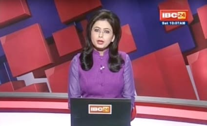 Anchor Learns of Husband's Death On Air, Completes Report