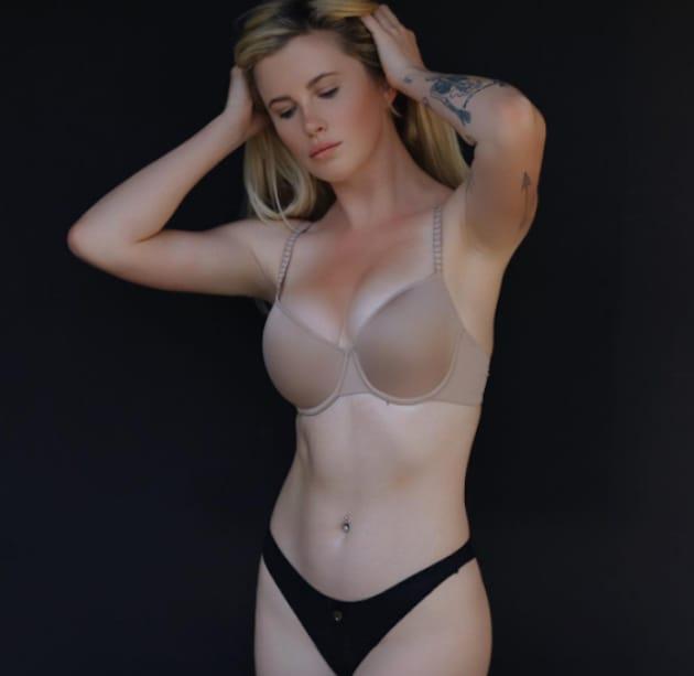 Ireland Baldwin in Underwear