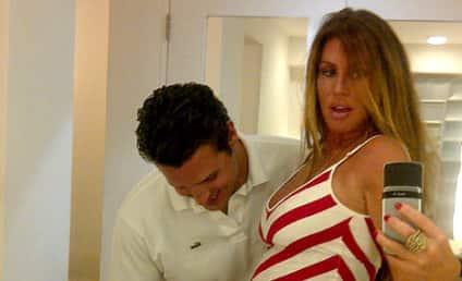 Rachel Uchitel Confirms, Tweets Proof of Pregnancy