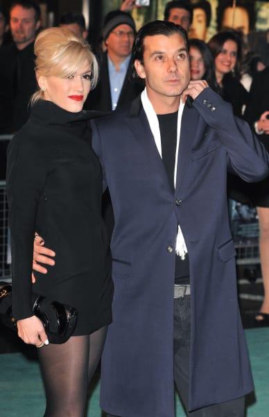 Gwen Stefani & Gavin Rossdale: 'Sherlock' World Premiere