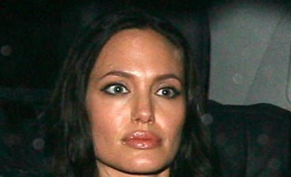 Angelina Jolie Avoids Papa Voight at Party