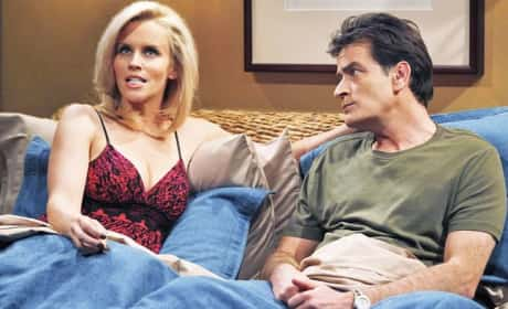 Charlie Sheen and Jenny McCarthy