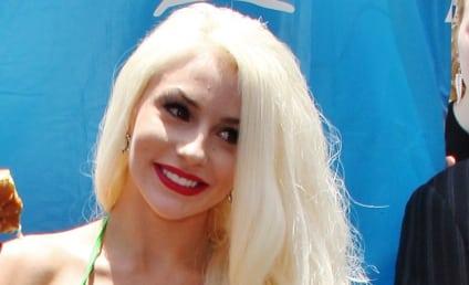 Courtney Stodden Rocks Lettuce Bikini in Support of PETA