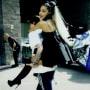Ariana grande rides pete davidson