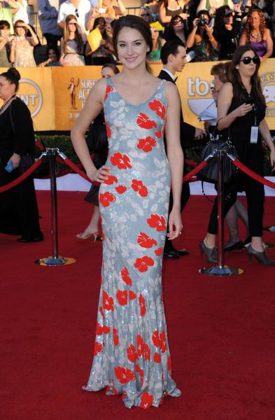 Shailene Woodley at SAG Awards