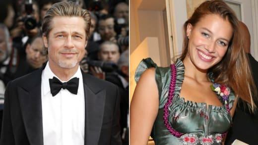 Nicole Poturalski Brad Pitt S New Girlfriend Looks Just Like Angelina Jolie The Hollywood Gossip