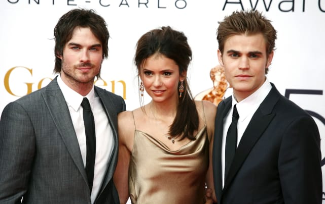 Ian somerhalder nina dobrev and paul wesley 2010 monte carlo tel