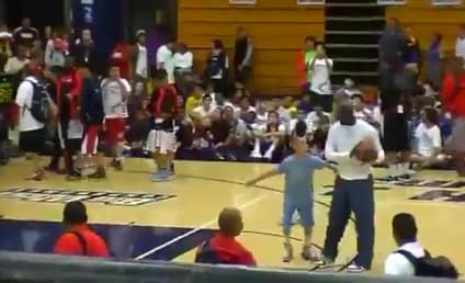 Michael Jordan Blows by Camper, Dunks at Age 50