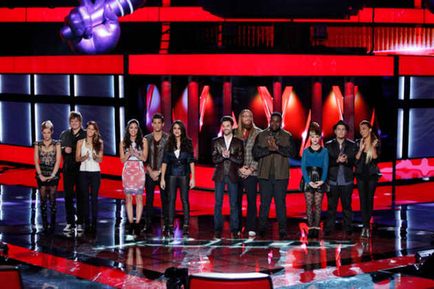 The Voice Top 12