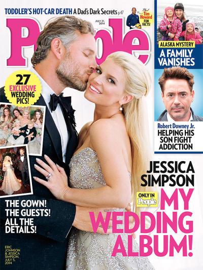 Jessica Simpson Wedding Photo
