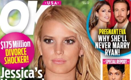 Jessica Simpson on cover of OK!