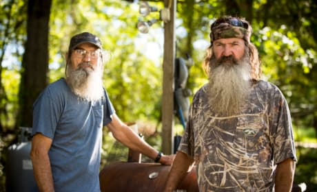 Si and Phil Robertson