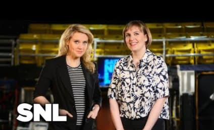 Lena Dunham Saturday Night Live Promos: Look Who's Topless!