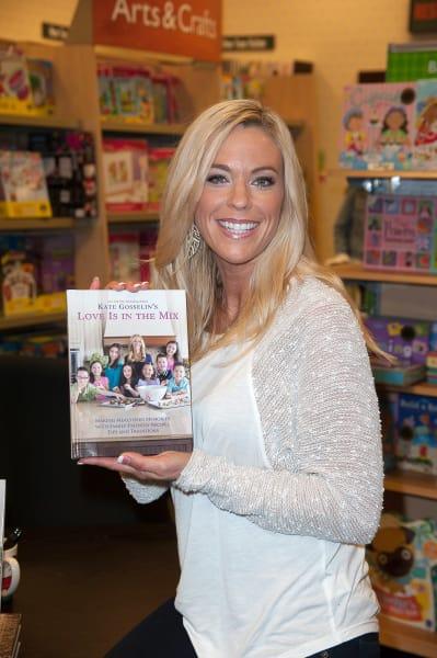Kate Gosselin Cookbook Photo