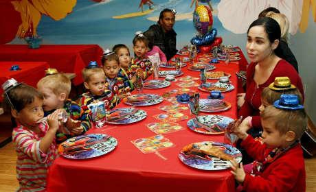 Octomom Birthday Party