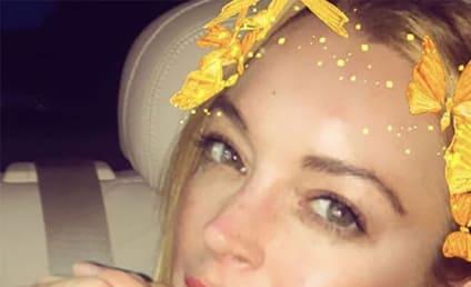 Lindsay Lohan Freaks Out in Russian Club!