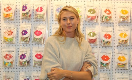 Maria Sharapova At The ISM Conference