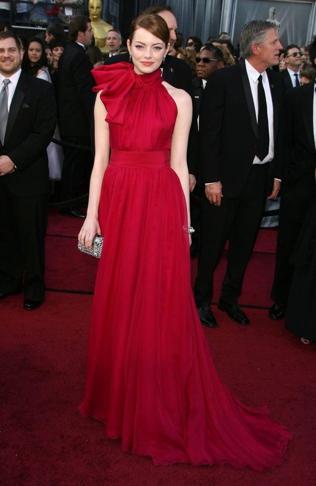 Emma Stone at the Academy Awards
