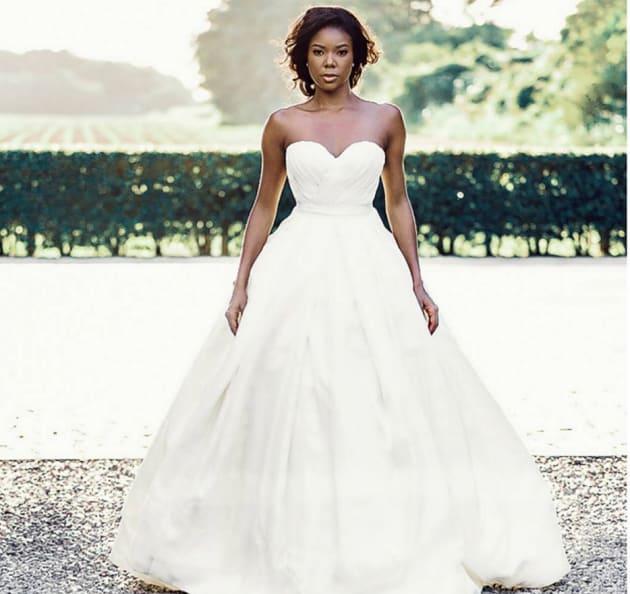 Gabrielle Union's Wedding Dress