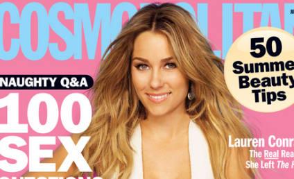 Sexy Lauren Conrad Covers Cosmopolitan