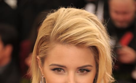 Dianna Agron as a Blonde