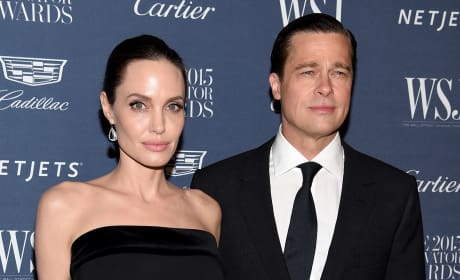 Angelina Jolie and Brad Pitt Throwback Pic